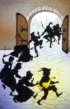Сказки братьев Гримм в тенях