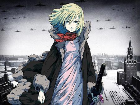 Россия в аниме.